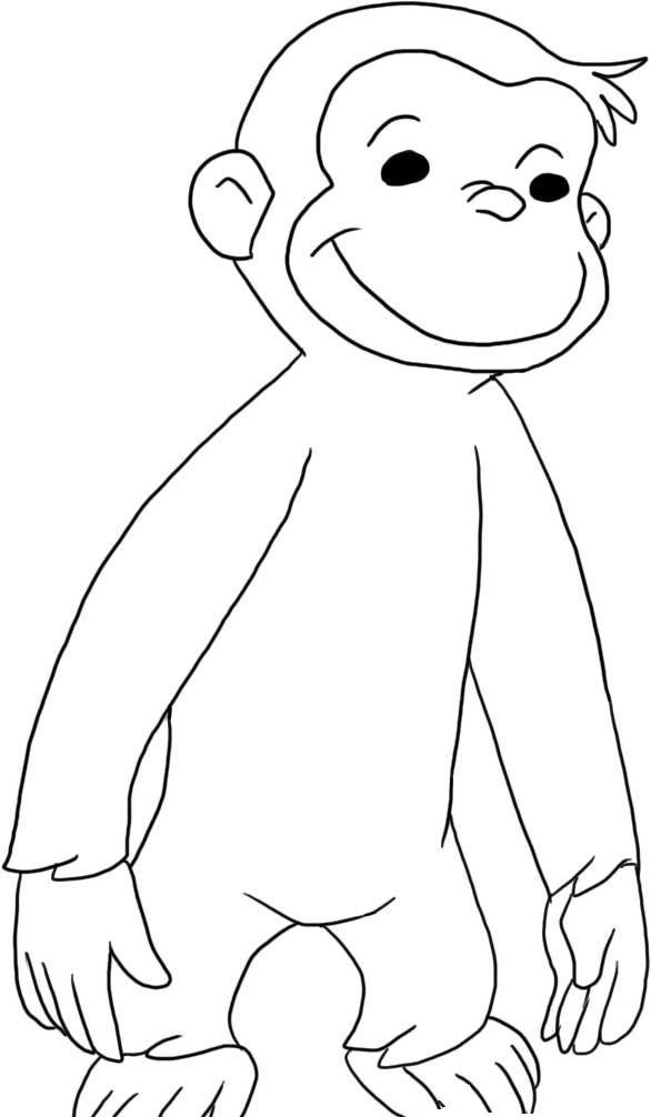 Curious Gee Coloring Pages To Print Coloring Home