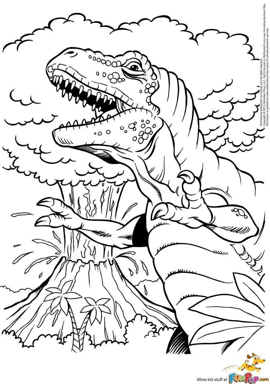 Volcano Eruption Coloring Pages Volcano Coloring Pages. Kids ...