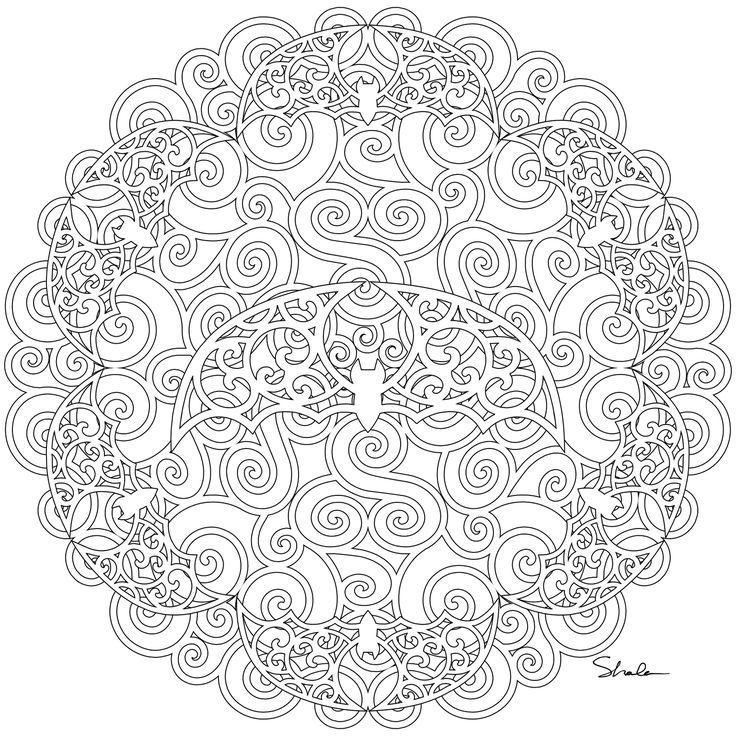 pinterest mandala coloring pages - photo#11