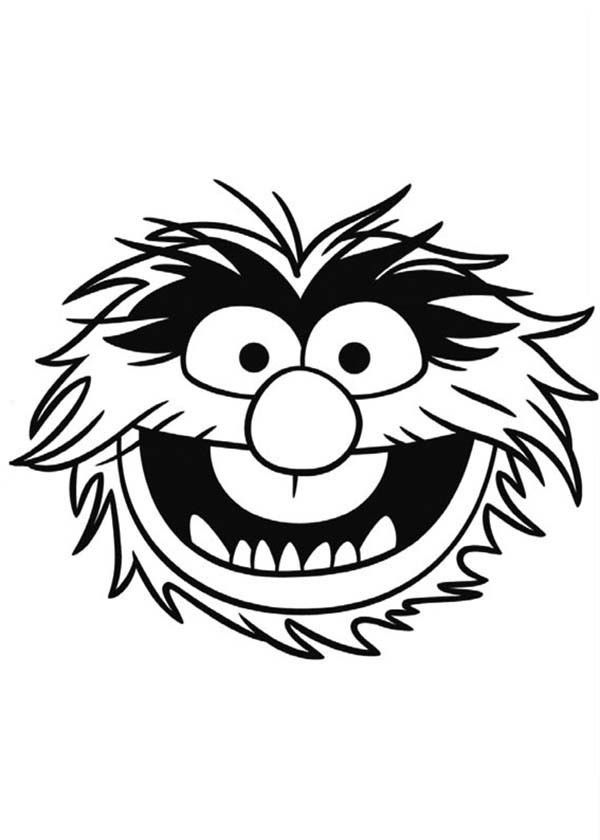 Face Of Sgt Floyd Pepper The Muppets Coloring Pages | Bulk Color ...