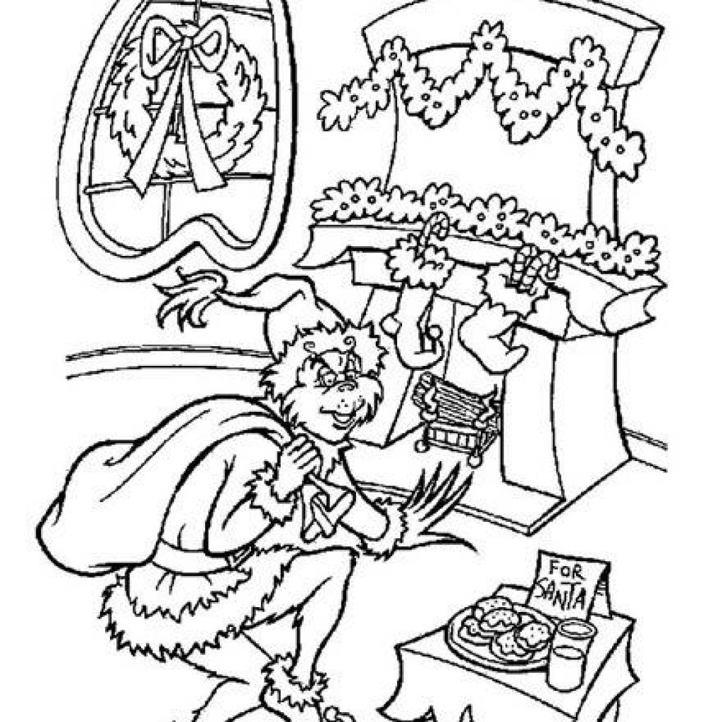 This is a photo of Dynamic Coloring Pages Of The Grinch