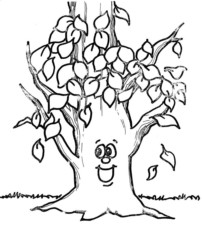 shape coloring pages tree leaves designs canvas intelligence
