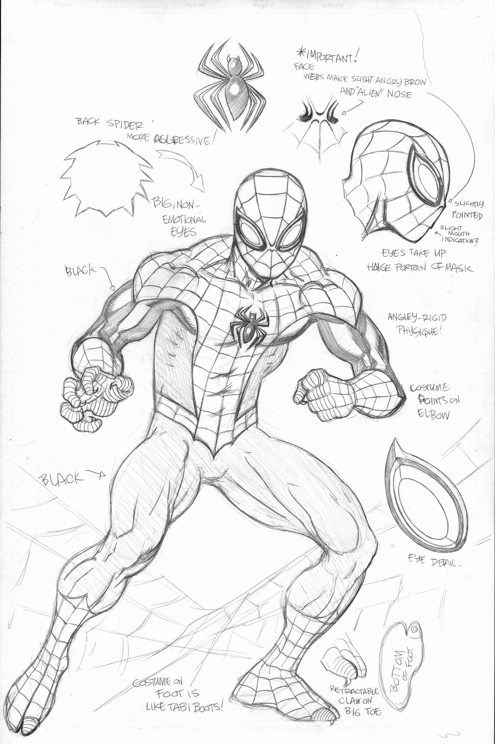 spectacular spiderman coloring pages - photo#37