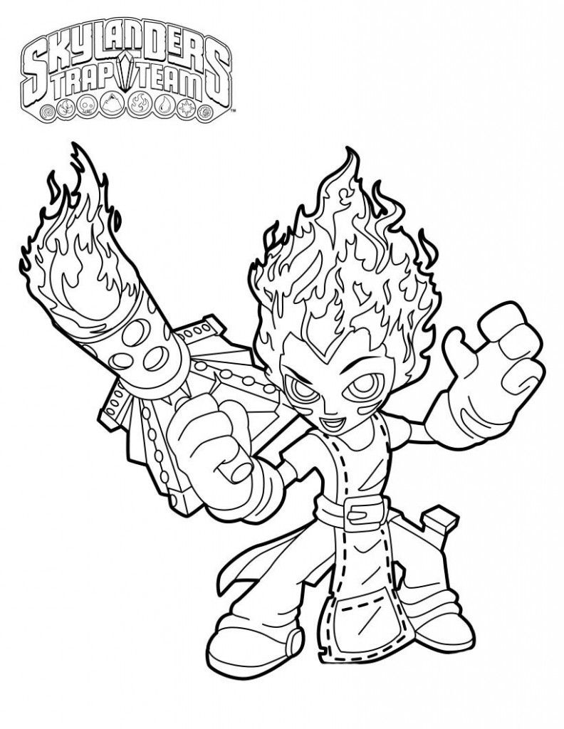 trapping coloring pages - photo#19