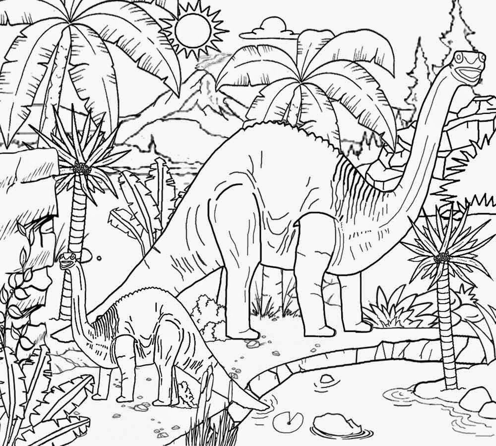 Landscapes Coloring Pages For Adults