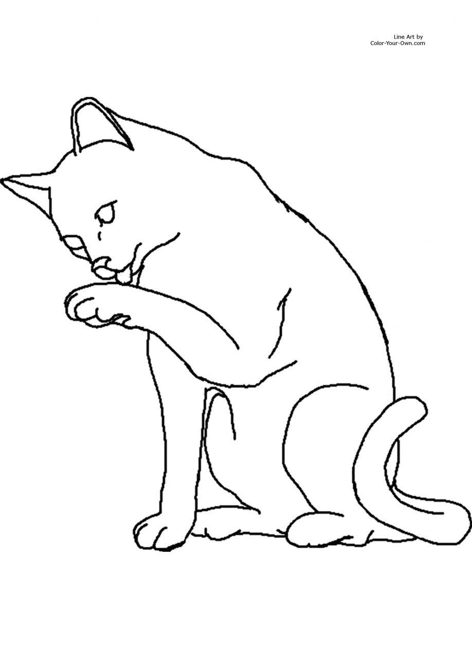 Free Printable Warrior Cat Coloring Pages Nice - Coloring pages