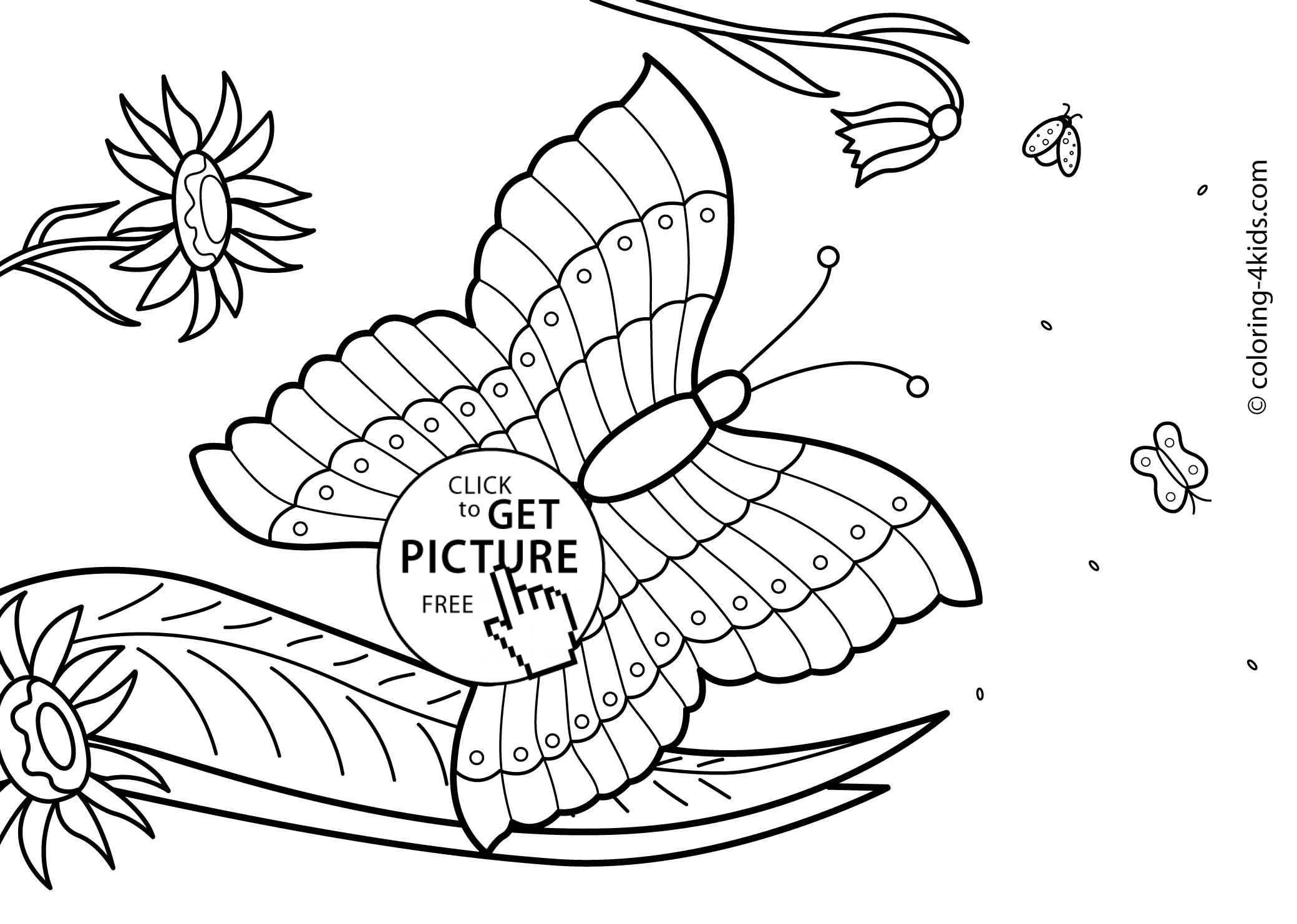 Summer Coloring Pages For Kids To Print Out - Coloring Home