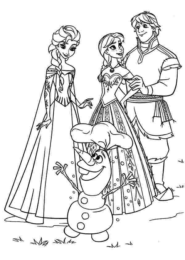 Princess Anna Coloring Pages - Coloring Home