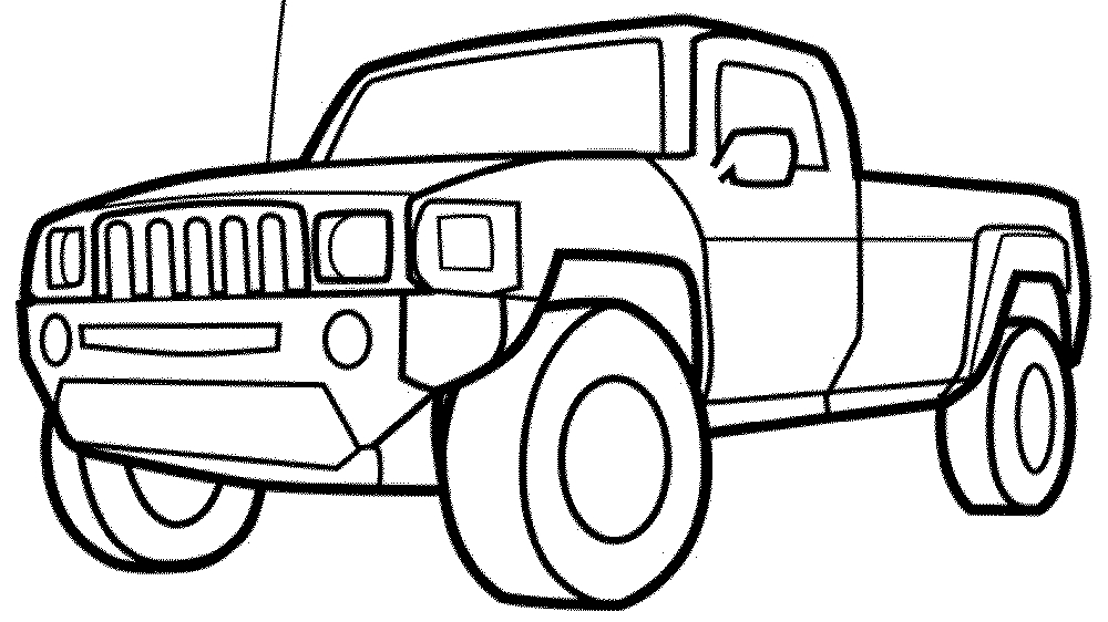 Cool Truck Coloring Pages Coloring Coloring Pages