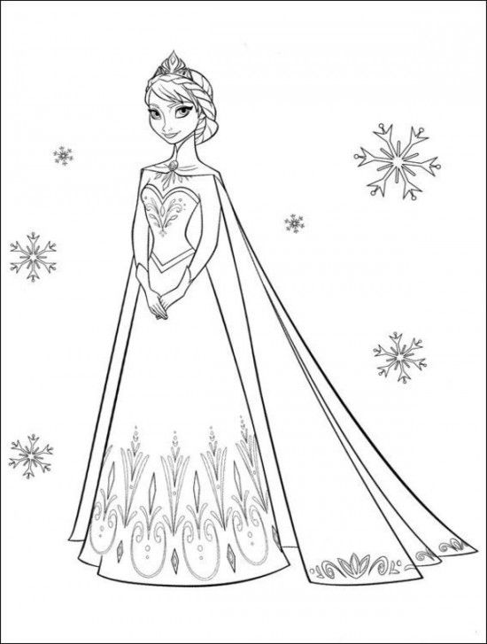 35 FREE Disney's Frozen Coloring Pages (Printable) Frozen - Coloring  Home