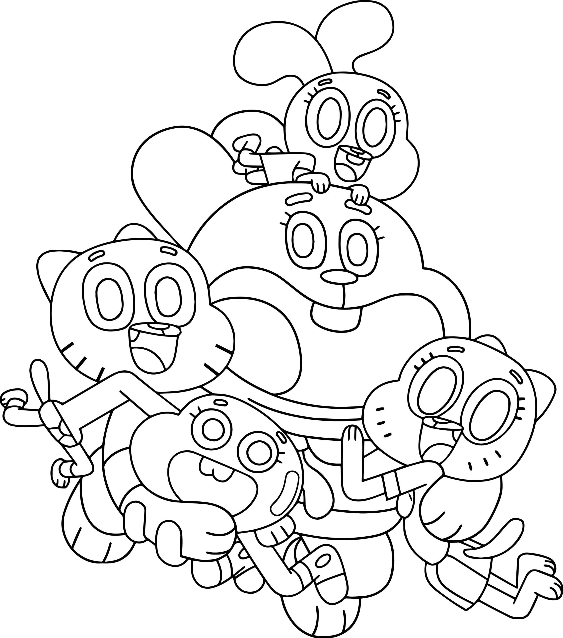 Cartoon Network Coloring Pages - Coloring Home