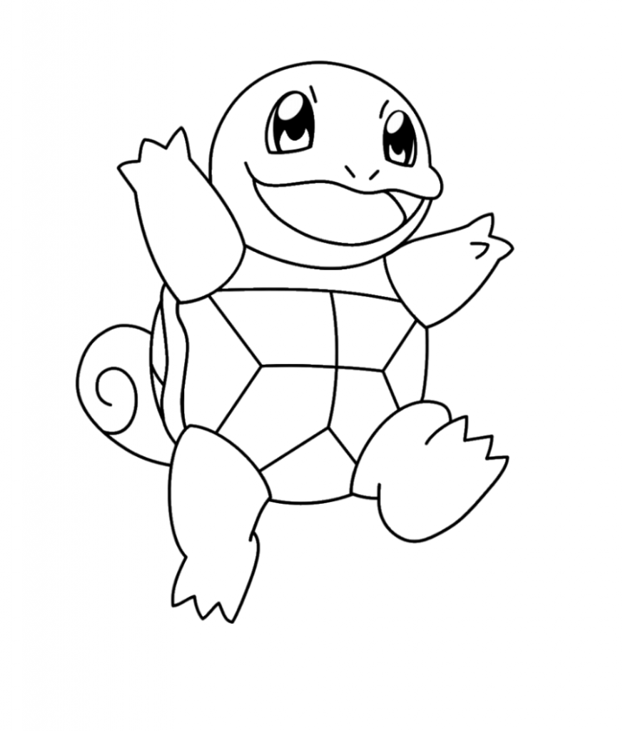 Squirtle Coloring Pages - Coloring Home