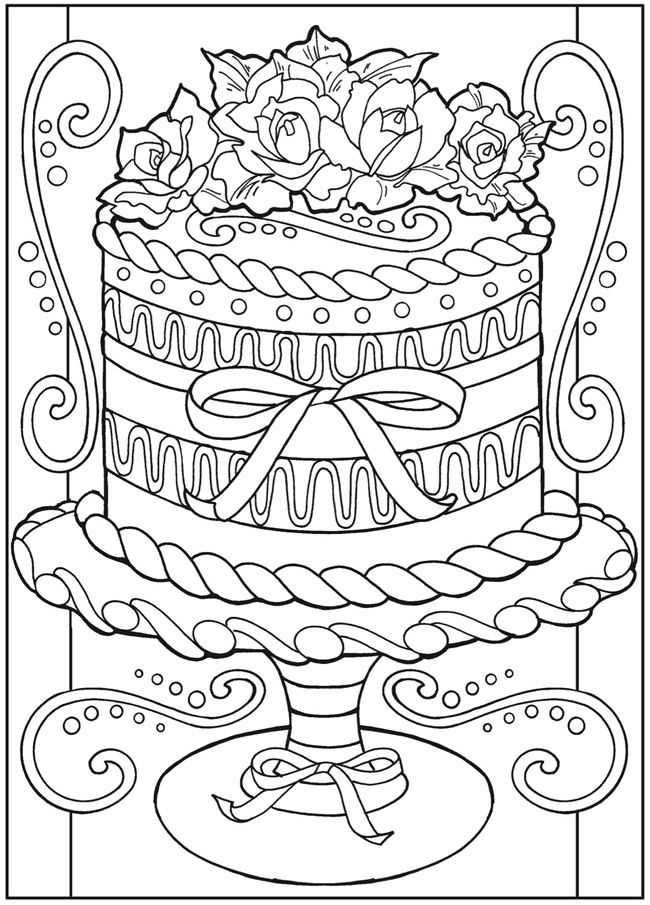 Welcome to Dover Publications - Creative Haven Designer Desserts ...
