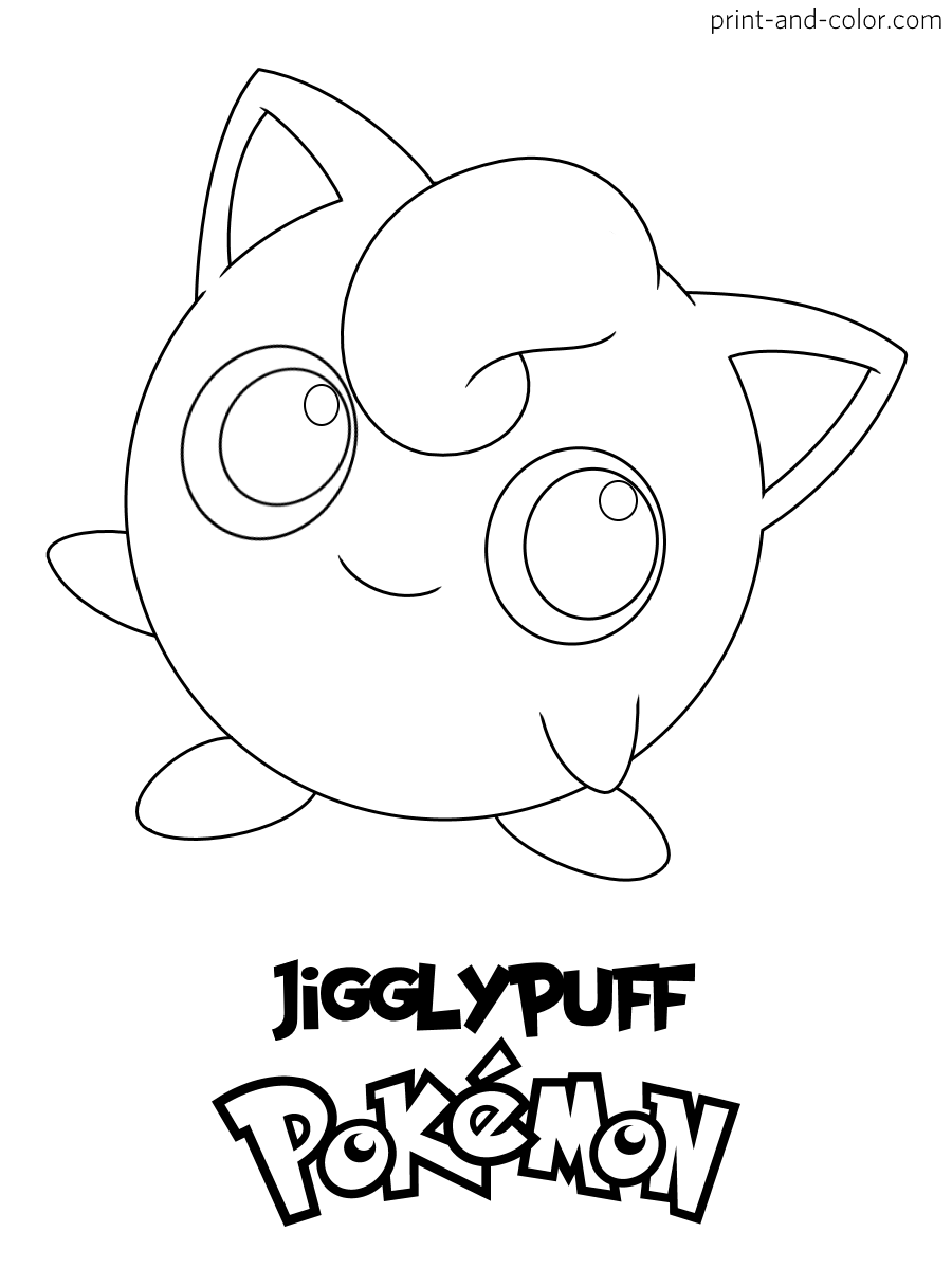 Pokemon Coloring Pages   Print And Color.com   Coloring Home