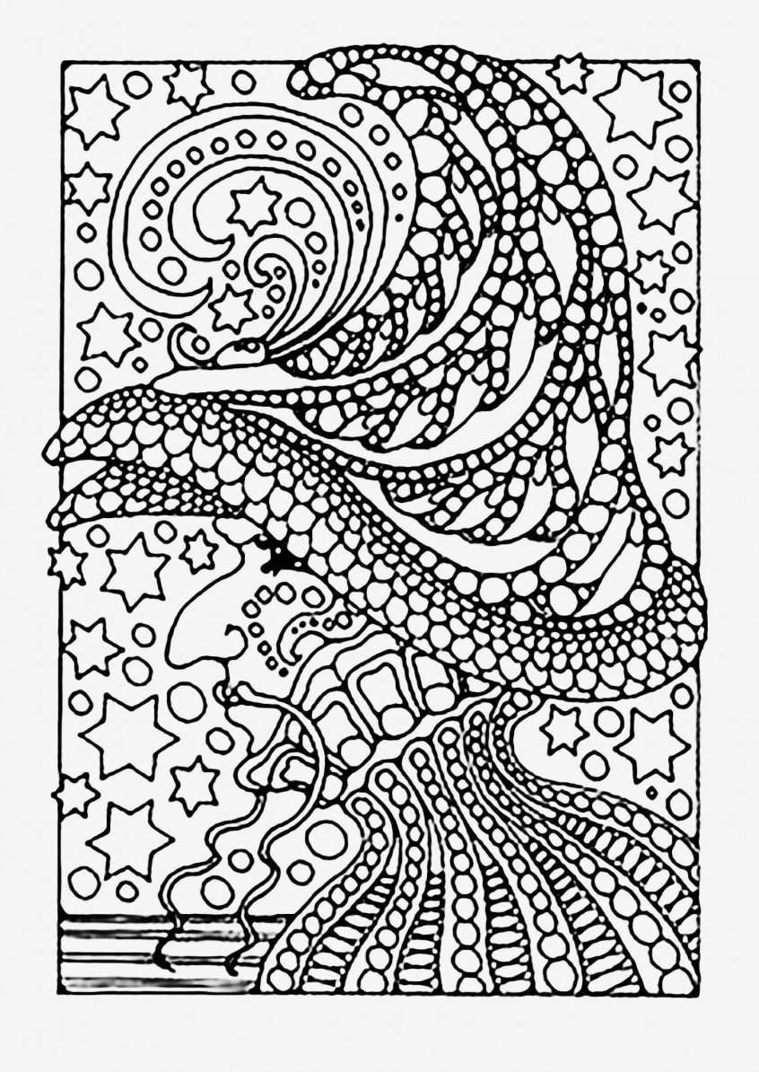 Coloring Pages: Difficult Color By Number Printables Az Coloring ... | 1194x846