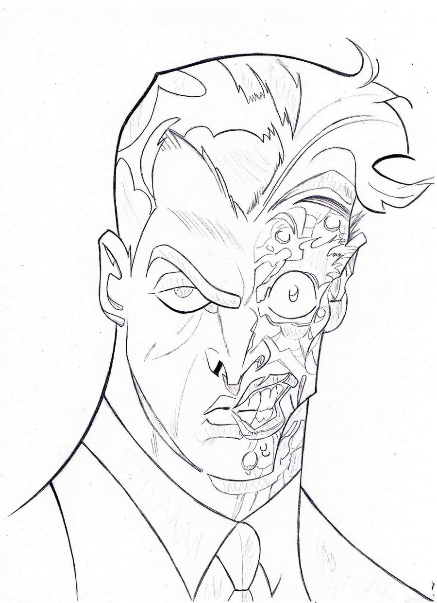 Adult Beauty Two Face Coloring Pages Gallery Images best batman two face coloring pages az high quality gallery images