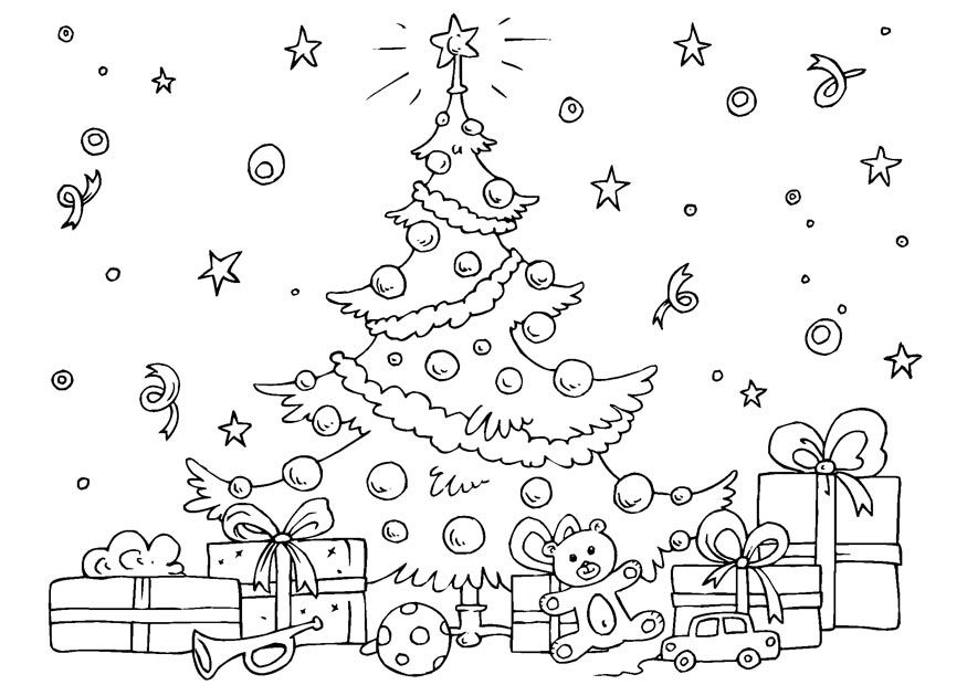 Big Coloring Pages Of Christmas - Coloring Pages For All Ages