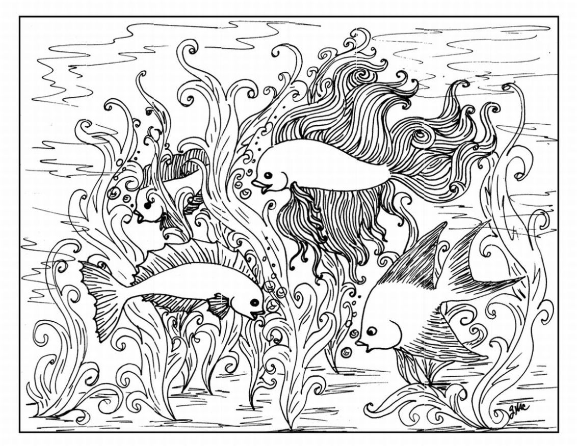 complicated coloring pages adults colorinenet 23504