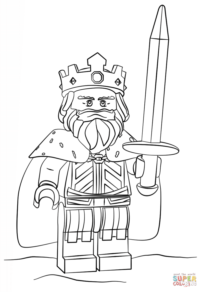 Clash Of Clans Coloring Pages Pdf : Clash of clans barbarian king coloring pages
