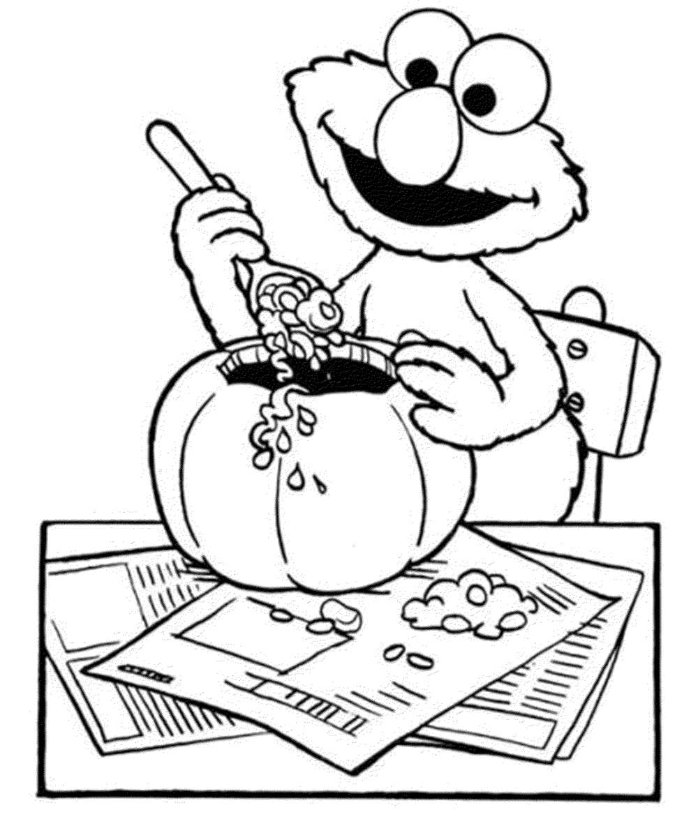 halloween elmo coloring pages coloring home