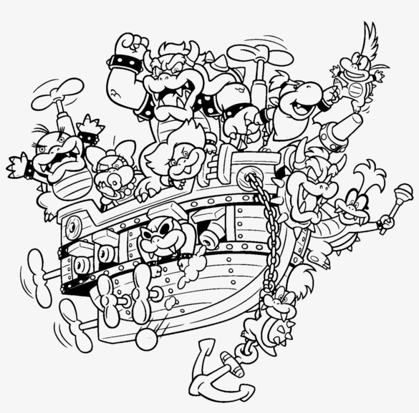 63 Stress Free Dry Bowser Mario Cart Coloring Pages ...