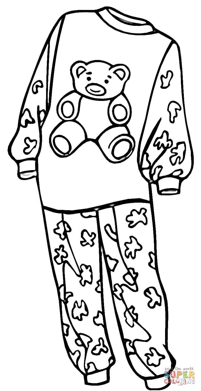 Раскраски женская одежда