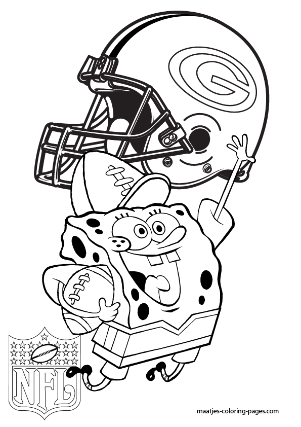 Green Bay Football Color Pages