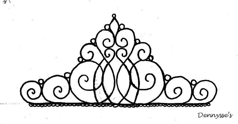 Princess tiara coloring pages az coloring pages for Tiara coloring page