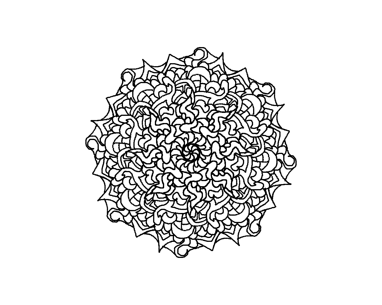 hard kaleidoscope coloring pages az coloring pages