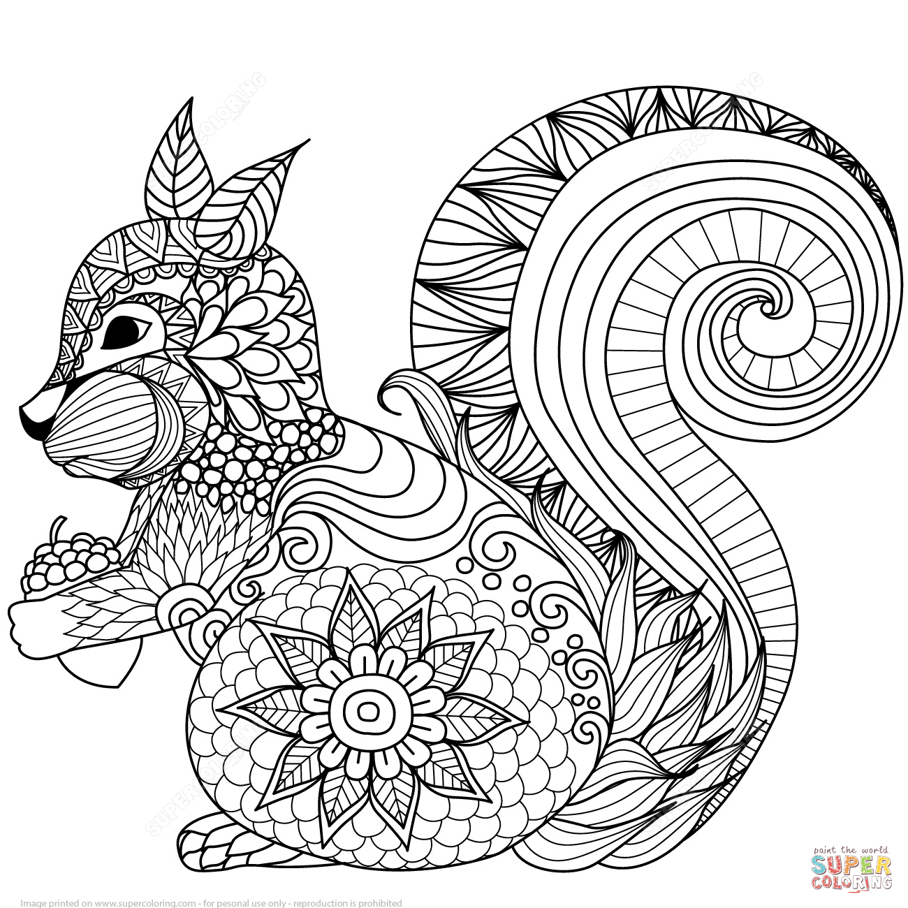 - Printable Zentangle Coloring Pages Free - Coloring Home