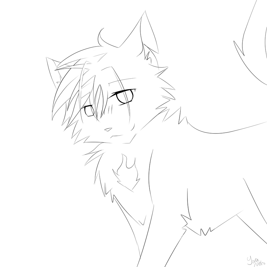 warrior cat coloring | Only Coloring Pages