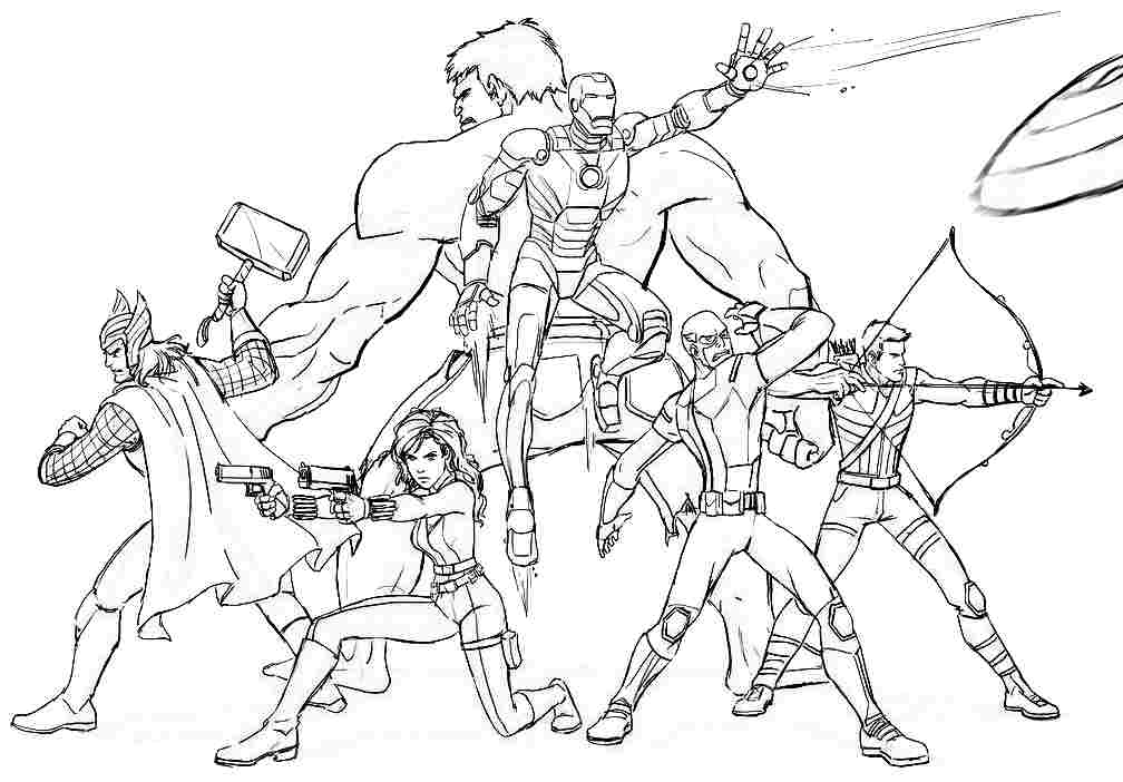 printable avengers coloring pages free coloring pages