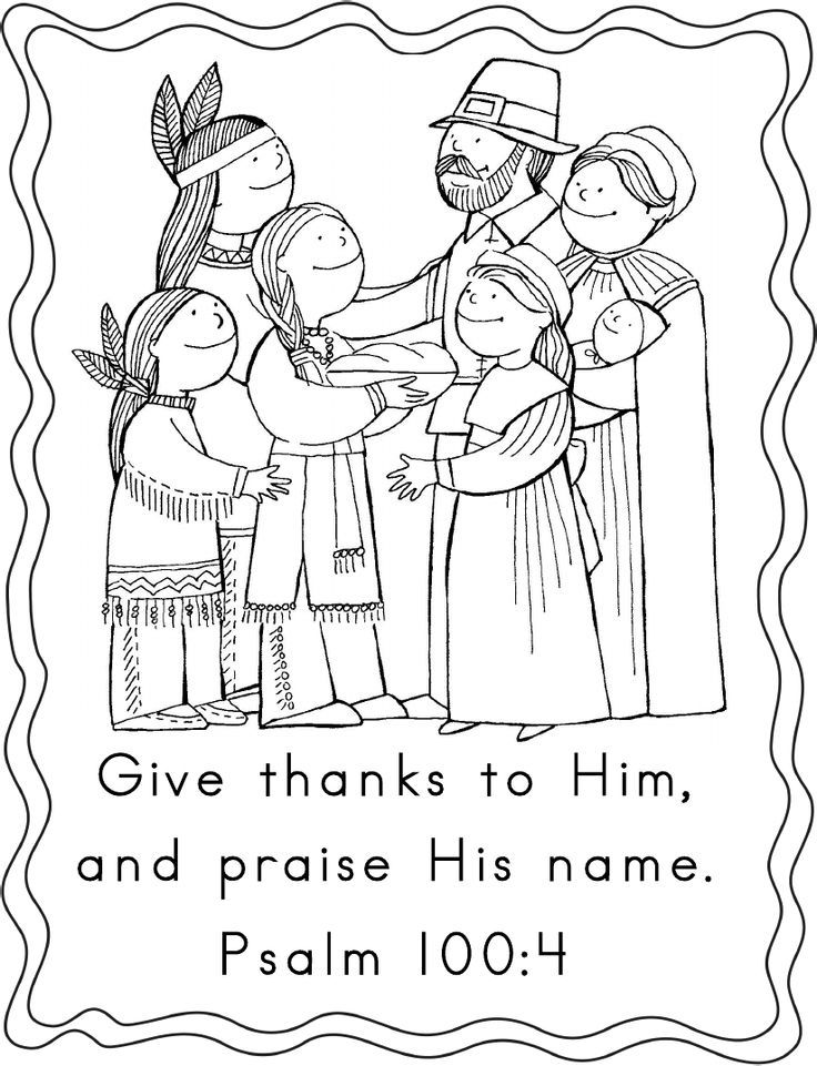 thanksgiving coloring pages religious creation - photo#21