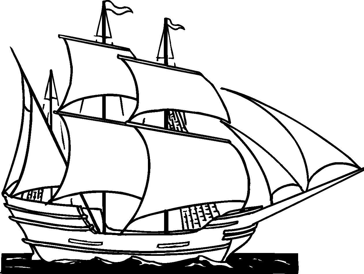 british sailing warship coloring pages - photo#14