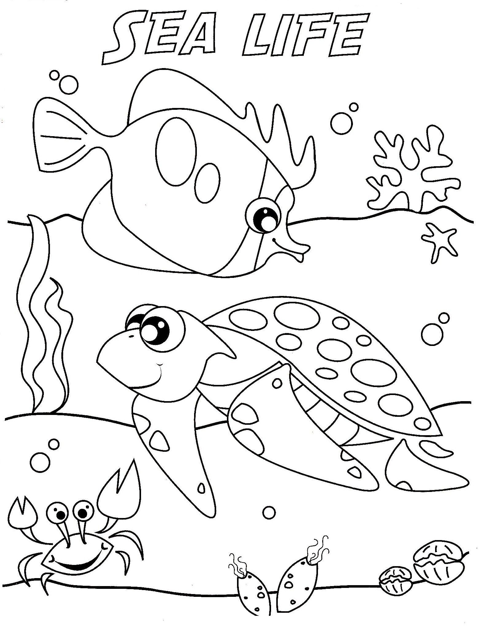 ocean wave coloring pages
