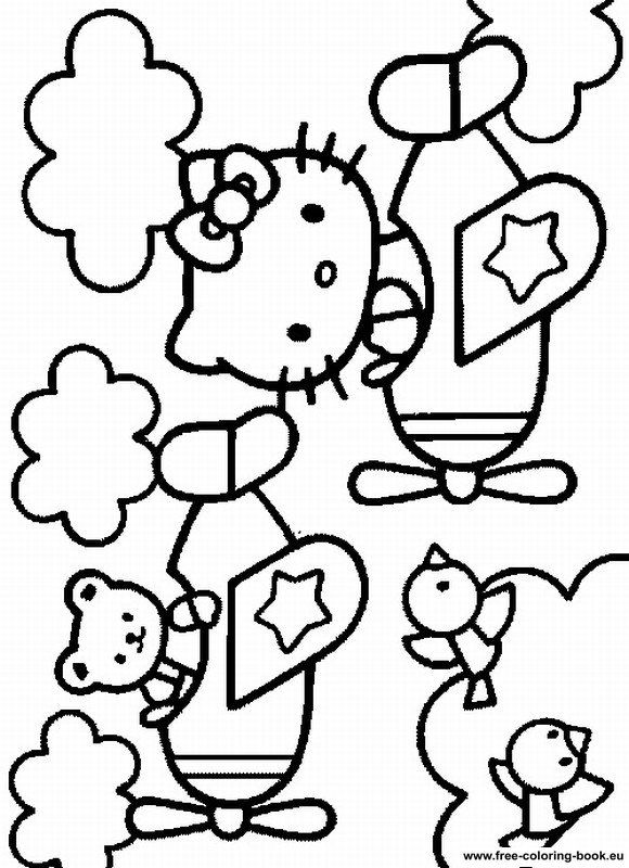 Girly Printable Coloring Pages - Coloring Home