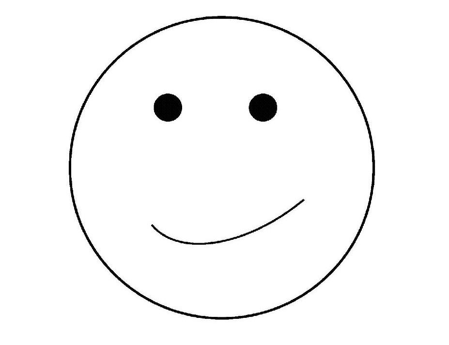 Smiley coloring pages for free ~ Free Smiley Face Coloring Pages - Coloring Home