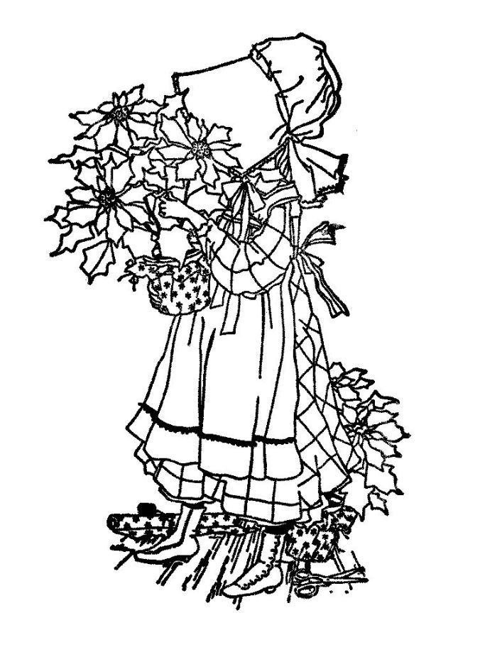 Holly hobbie original coloring pages coloring home for Holly hobbie coloring pages