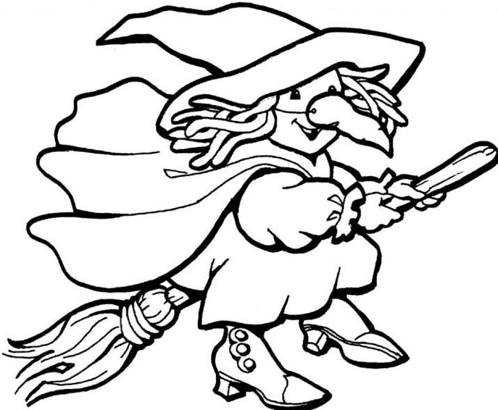 Free Coloring Page Of Witches AZ Coloring Pages