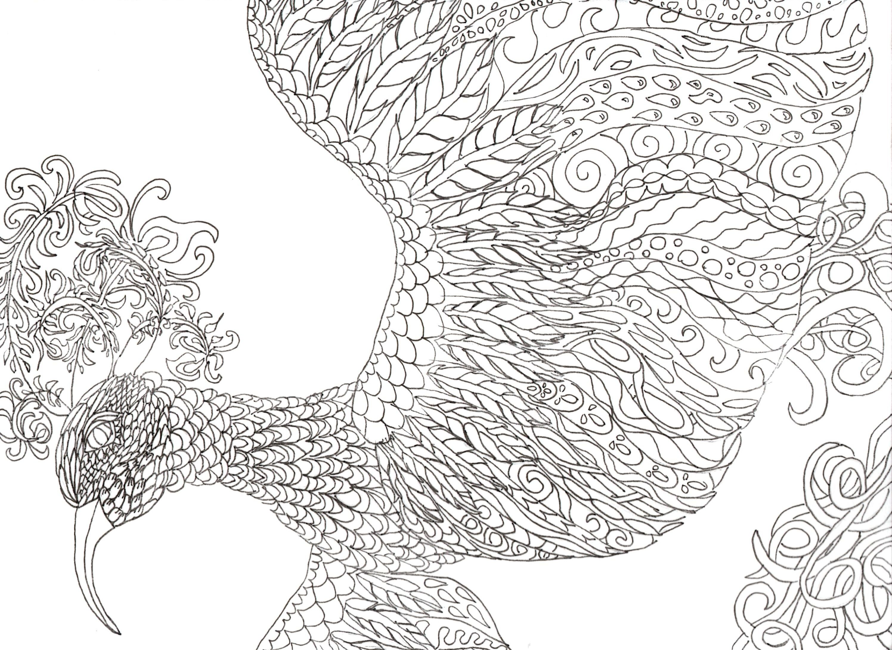 Intricate Coloring Pages Pdf