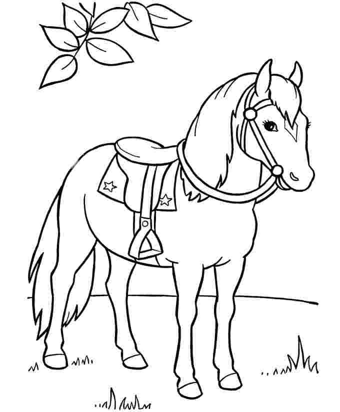 Horse Running Coloring Pages - Coloring Home