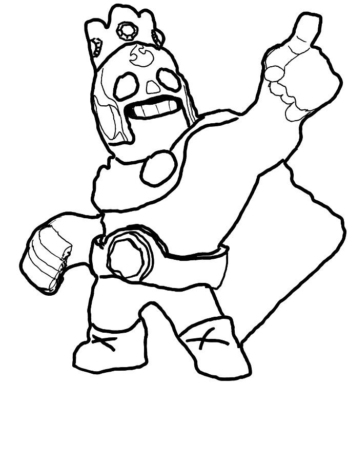 Coloring Pages Brawl Stars - EUGENE.H.PETERSON.PRINTABLE ...