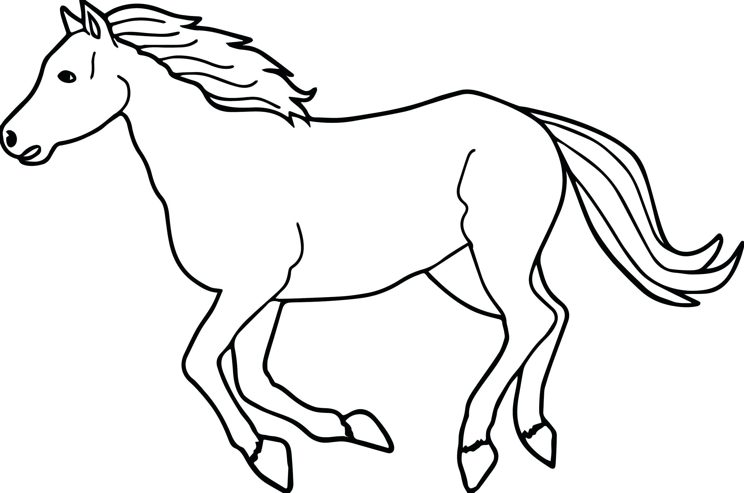 - Horse Coloring Sheets Haramiran