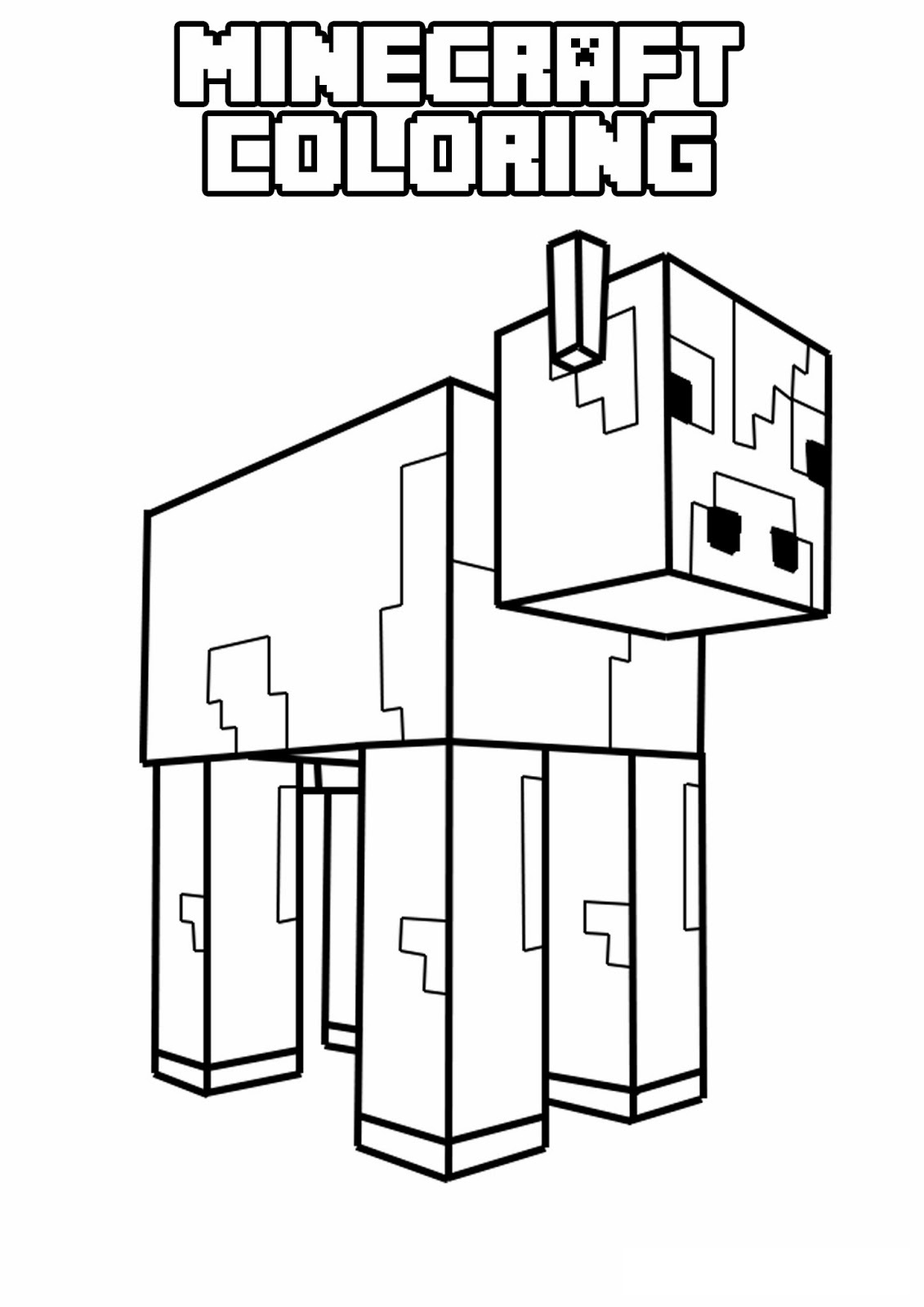 Minecraft Skins Coloring Pages