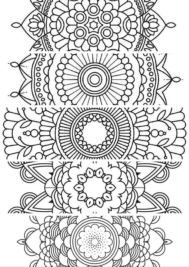 Free Coloring Pages For Adults Bookmarks  Coloring Home