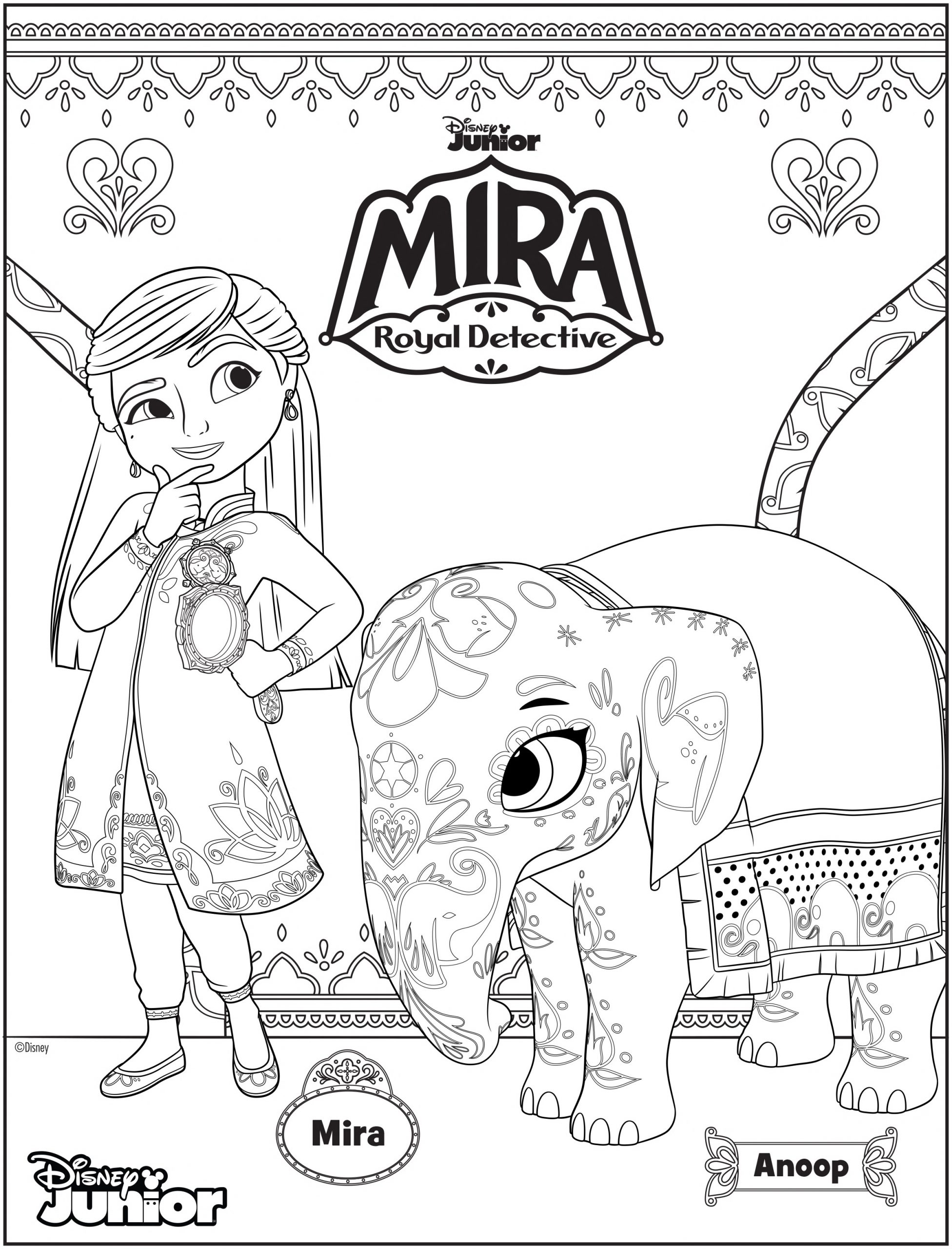 Special Mira, Royal Detective Episodes to Celebrate Asian Pacific American  Heritage Month Plus Coloring Pages! | BollySpice.com – The latest movies,  interviews in Bollywood