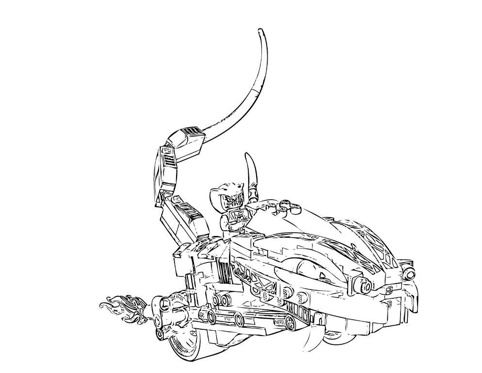 Cool Robot Coloring Pages