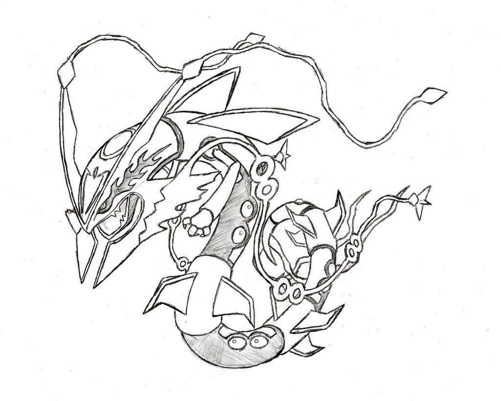 Mega Pokemon Coloring Pages - AZ Coloring Pages