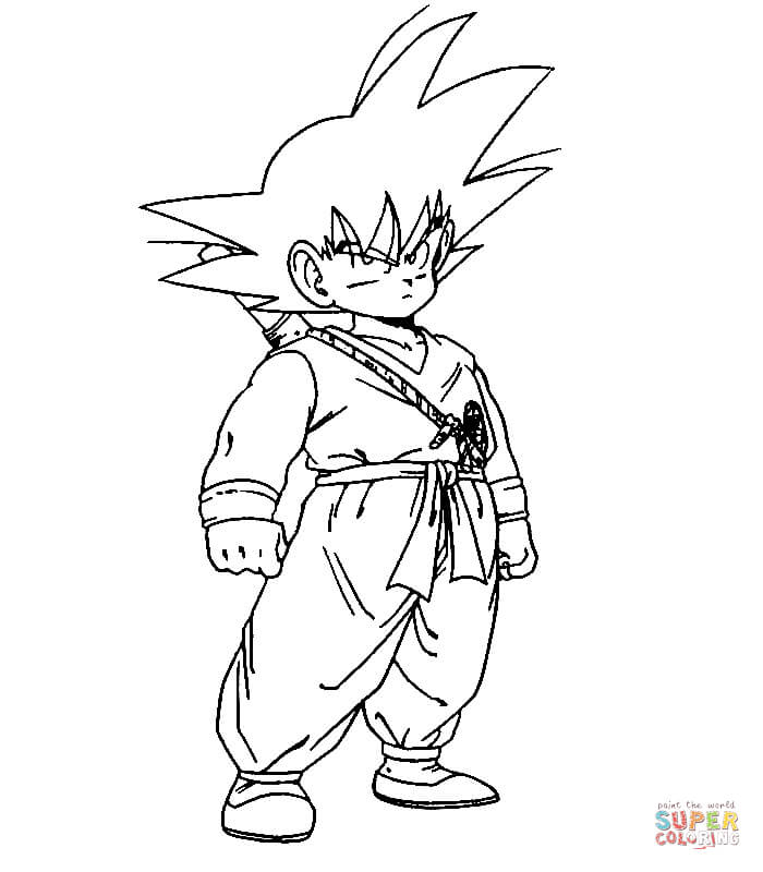 Dragon Ball Z coloring pages | Free Coloring Pages