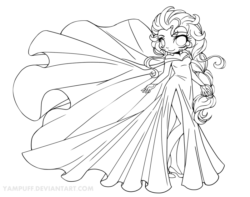 Chibi Belle Coloring Pages Coloring Pages For All Ages